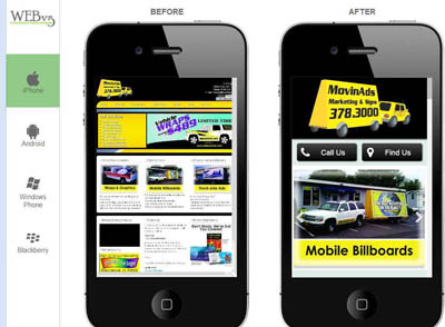Mobile Website Design – Mobile Marketing Solutions