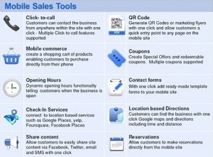 mobile sales tools